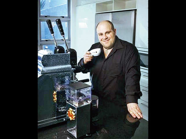 Phillip Di Bella hasn't gone from barista to being on the BRW Young Rich list for four years running