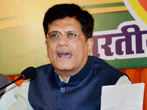 """Piyush Goyal observed that """"we are living on this planet and using its resources as if we have an another planet to go to later""""."""