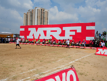 MRF is among the most expensive domestic stock in terms of value.