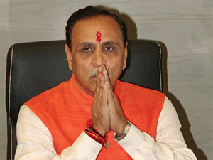 """""""I would like to tell that the state BJP is ready for polls, if they are held earlier or even if they are held in December as per schedule,"""" Vijay Rupani told reporters."""