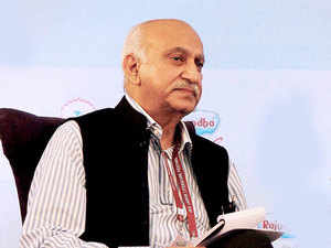Union Minister of State for External Affairs  M J Akbar was delivering a lecture on 'Nation and Nationalism' at the Vivekananda International Foundation here.