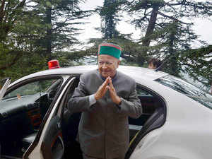 """On allegations of 'Mafia Raj' in the state,  Himachal Pradesh Chief Minister Virbhadra Singh said, """"In fact Mafia Raj existed during the previous BJP rule and 'Mafia' was a derogatory word that should not be used."""""""
