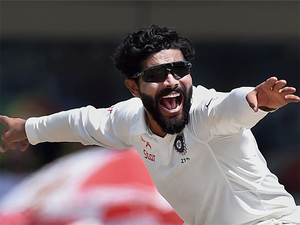 Jadeja chose attack over defence, knowing full well that he was going to be peppered with short stuff.
