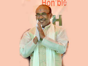 In the BJP it is very easy to meet the leaders. But in Congress, there was no chance to meet Rahul or Sonia Gandhi, says N Biren Singh.