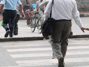 Data shows, walkers make up for 43% of road deaths.