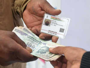 """If any person does not have Aadhaar, other identity proofs from ration to driving licence can be used,"""" Law Minister Ravi Shankar Prasad said."""