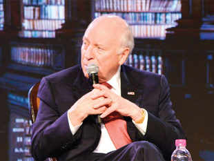 """""""I think that certainly they have much of the same interests in terms of their own countries,"""" Cheney said."""