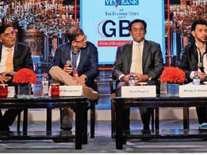 Amit Midha, Ananth Narayanan, Bibop G Gresta, Janmejaya Sinha, Rana Kapoor, Vanitha Narayanan, and Shane Smith discussed the impact on digital technologies.