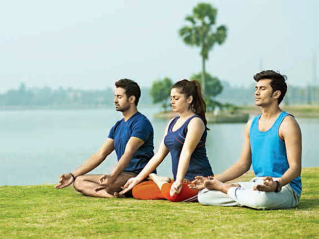 Yoga has the power to rejuvenate your senses within minutes of performing the simple asanas. Try it with a group and feel the blissful energy!