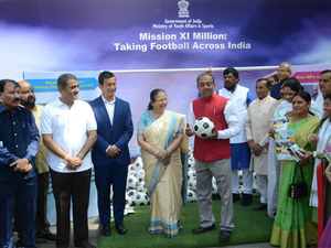 The FIFA U-17 World Cup in October this year according to the sports minister will ensure that the India becomes the bright spot in world football.