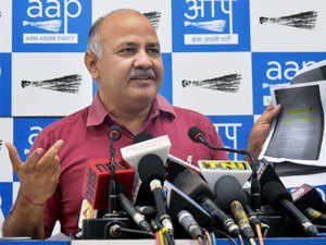 Manish Sisodia said the Congress and the BJP are misleading people that the tax can only be abolished by Parliament.