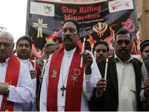 The 42 people, belonging to Pakistan's minority Christian community, have been charged with lynching two men after March 2015's suicide blasts.