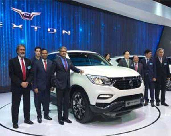 SsangYong Rexton G4 unveiled at Seoul motor show 2017 - The Economic Times Video | ET Now