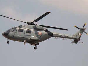 Of the 32 helicopters to be built by HAL, both the services will receive 16 each, the company said.