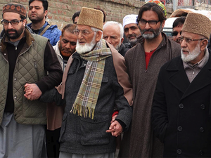 The state, Hurriyat said, is reeling under black laws like AFSPA and Indian forces enjoy impunity to kill or blind whosoever comes in their way.