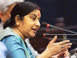 """I appreciate the efforts of Indian Ambassador in South Sudan Srikumar Menon for the release of Indian nationals"" Swaraj tweeted."