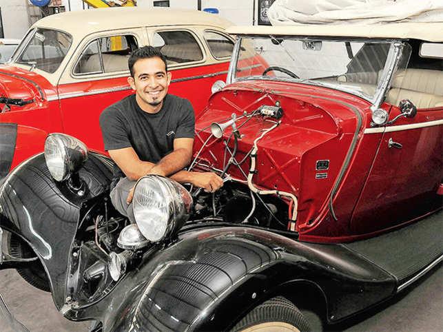 Christopher Rodricks restores vintage cars
