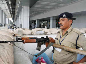 The Central Industrial Security Force (CISF) today averted a major security threat by apprehending a passenger.