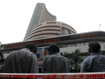 The broad-based NSE Nifty ended flat at 9,173.75 after shuttling between 9,191.70 and 9,152.10.