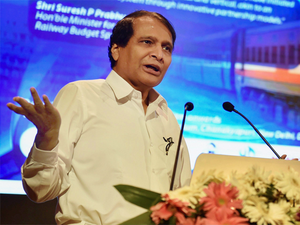 """""""The new company formed will have representatives from state governments on the Board of Directors. They will decide on the project's priorities and its implementation,"""" Suresh Prabhu said."""