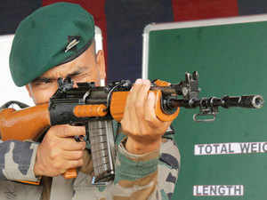 The rifles are being procured to strengthen the army's overall infantry and will particularly help it in operations in Jammu and Kashmir. (Representative image)