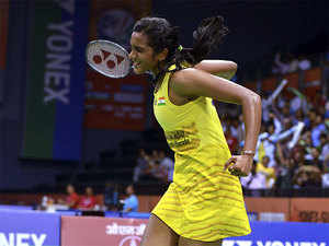 In a high-voltage contest, Sindhu showed why she is considered the badminton queen of India as she notched up a 21-16 22-20 win over Saina in a 47-minute women's singles quarterfinal clash.