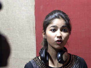 """What is there to hide?"" the 18-year-old told AFP from her one-room studio on the outskirts of the town of Jalandhar in northern Punjab state."