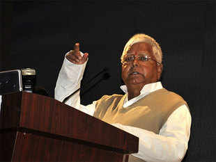 """""""It is not something simple. Why did it not show any other party getting the vote,"""" Lalu asked."""