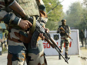 Army sources said that the jawan belongs to Darjeeling and has accepted he was carrying grenades. (Representative image)