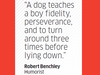 Quote by Robert Benchley