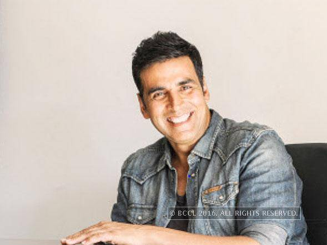"Akshay Kumar has commented, ""Der aaye, durust aaye,"" or, in gist, 'So what if it's late, it's great'."