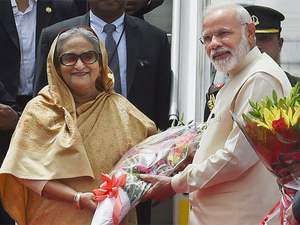 """We have the greatest admiration for Prime Minister Sheikh Hasina's firm resolve in dealing with terrorism. Her government's 'zero-tolerance' policy towards terrorism is an inspiration for all of us,"" said Modi."