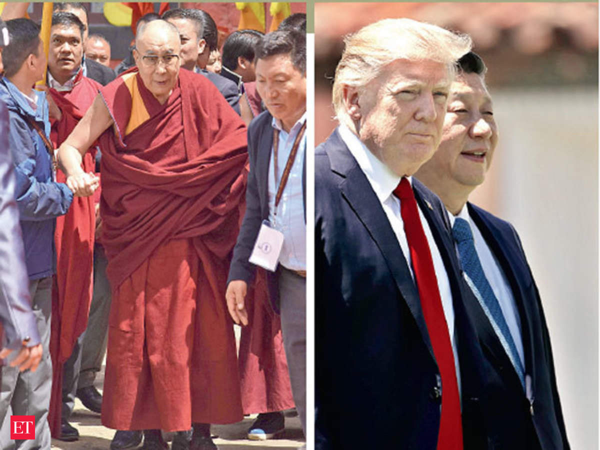 Tibet How Donald Trump May Have Provided India An Opportunity To Play The Tibet Card The Economic Times