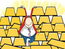 "For Monday's trading session, Nirmal Bang Commodities said, ""We expect gold prices to trade range bound for the day."""