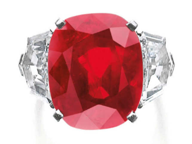 In May 2015, the Sunrise Ruby sold for $28 million.