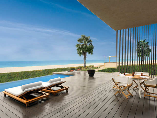 Italian architect, Piero Lissoni, is the man behind designing the resort.