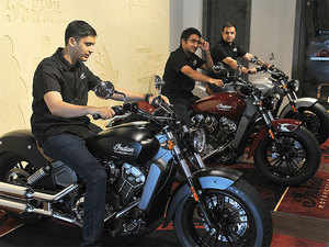Volumes are still small in India for Triumph, Indian and another cult American bike maker, Harley-Davidson.