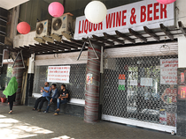 The top three -- United Spirits, Pernod Ricard and Allied Blenders, which account for 60% of overall sales -- had zero growth by volume in the April-December period.