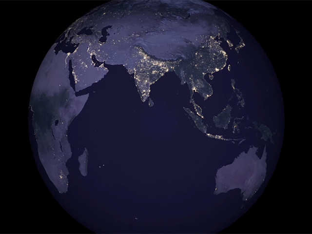 Nasa Nasa Releases Satellite Images Of India At Night And They Are