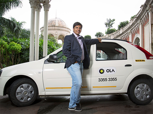 Industry estimates place the market share for Ola, led by founder Bhavish Aggarwal, at around 65% with Uber holding the second slot in the taxi aggregation business.