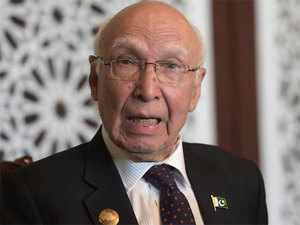 Aziz in a detailed statement read out to the media at the Foreign Office said that India through its reaction was aggravating the situation.