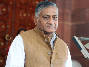 V K Singh said, the government is trying everything to get access to Jadhav.