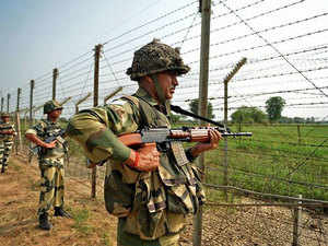 The search was held after the Border Security Force (BSF) officials got a tip-off about the suspected trespassing from the local villagers.