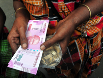 The rupee fell for a second day as sluggish domestic equities along with continued selling by foreign investors kept pressure on the domestic currency.