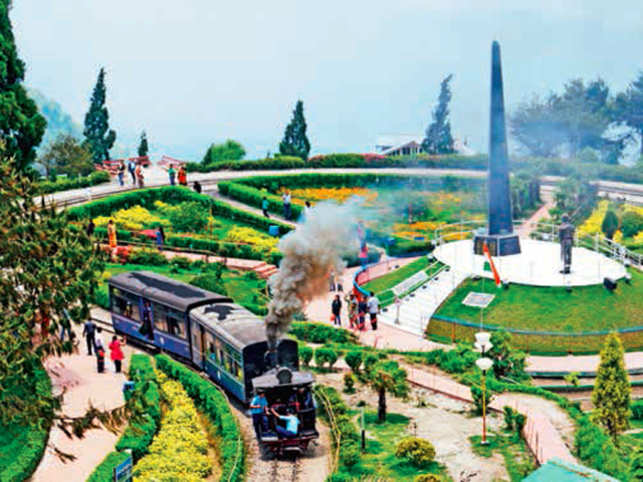 Drive through beautiful green meadows and picturesque valleys to reach Mirik, the serene tourist spot in the hills of Darjeeling.