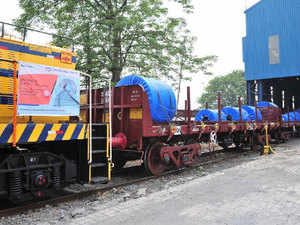 First SFTO rake rolls out of Tata Steel Jamshedpur.