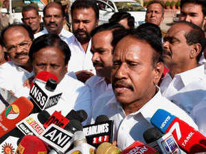 Rajbhavan sources said that Thambidurai had sought an appointment with the Governor following which the meeting took place.