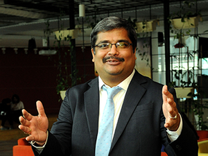 Dilipkumar Khandelwal, managing director for SAP Labs India.