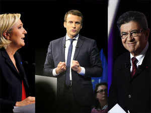 Internationally, this election is being watched with trepidation because three of the frontrunners- Macron, the far-right Marine Le Pen and the far-left Jean-Luc Melenchon.