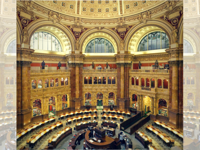 The Most Beautiful Room In The World Library Of Congress